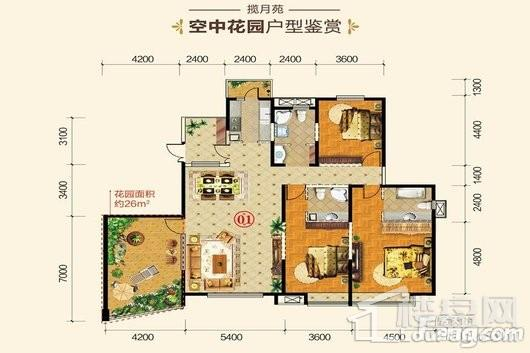 杭州湾世纪城户型图