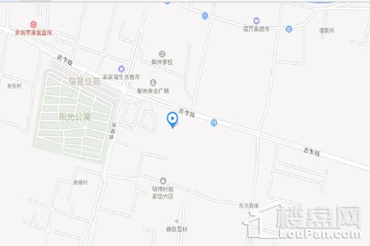 杭州湾蓝光雍锦世家交通图