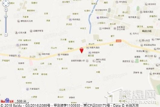 恒大河悦湾交通图