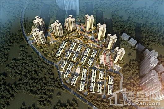 绿地·樾湖国际生态城效果图