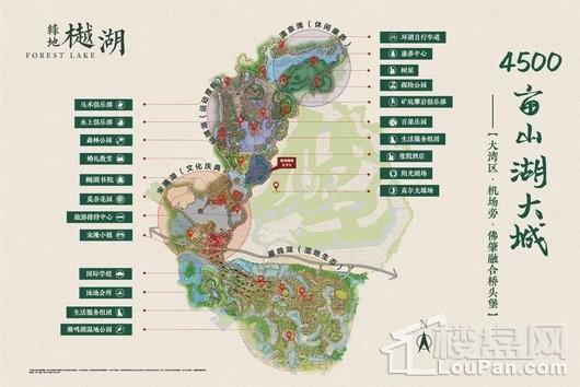 绿地·樾湖国际生态城配套图