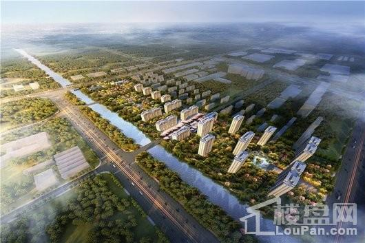杭州湾蓝光雍锦湾效果图