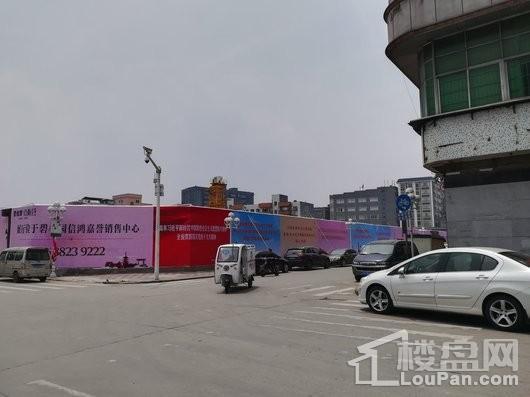 碧桂园古梅荟施工现场