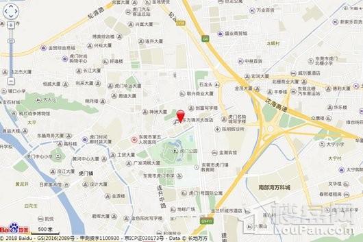 碧桂园壹中心位置图