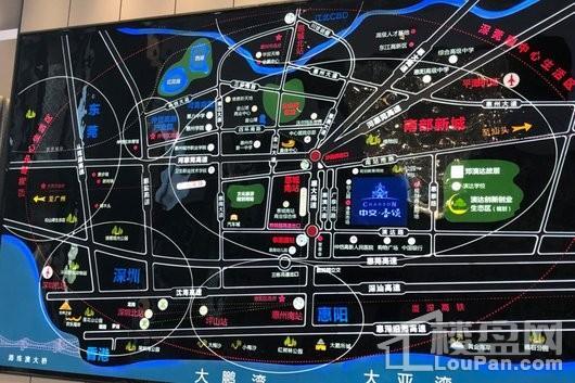 中交香颂花园交通图