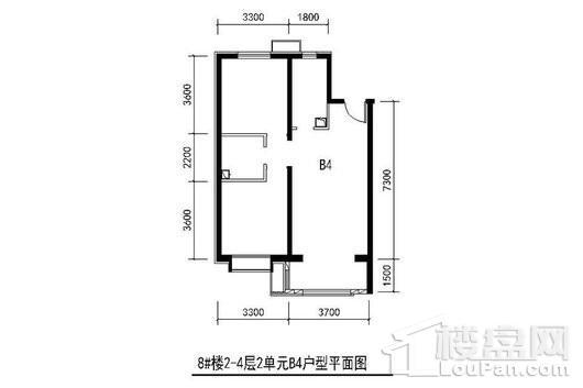 京汉铂寓户型图