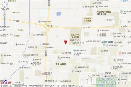 南湖尚城交通图