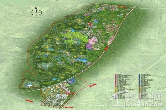 中国北茶小镇交通图