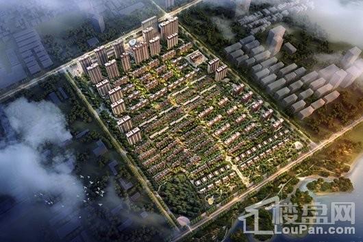 西安昌建城效果图