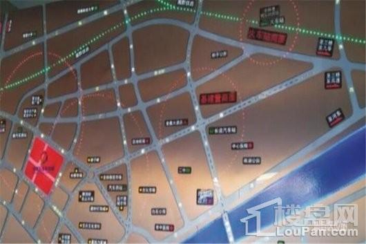 亿达商业广场(住宅)交通图