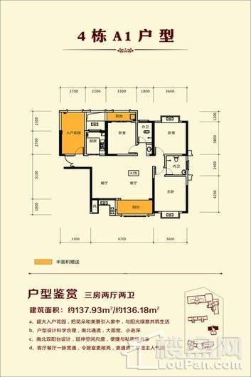 金芙蓉国际广场户型图
