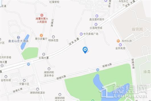 金芙蓉国际广场交通图