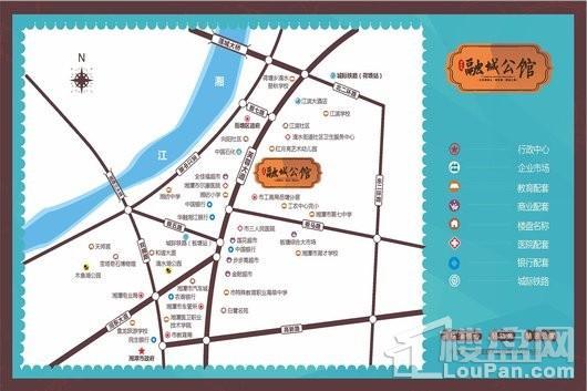 厚和城·融城公馆交通图