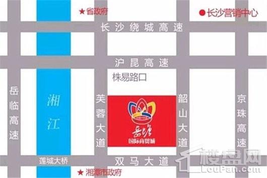 九华国际机械城交通图