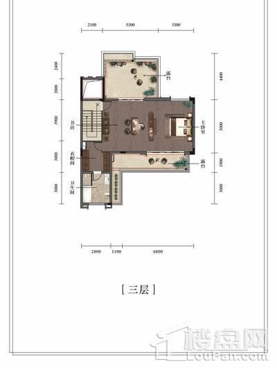 湘江富力城(别墅)户型图