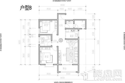 宇都·纳富特广场户型图