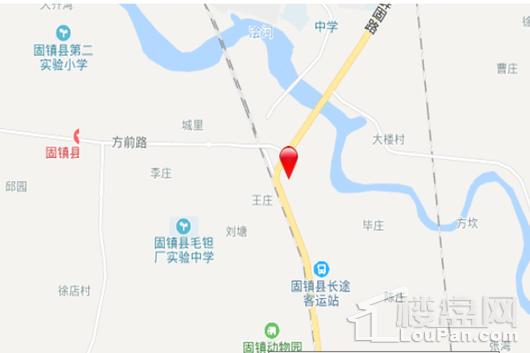 固镇华地公馆交通图