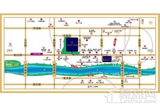 上河时代·天悦区位图