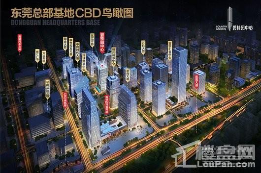 碧桂园中心效果图