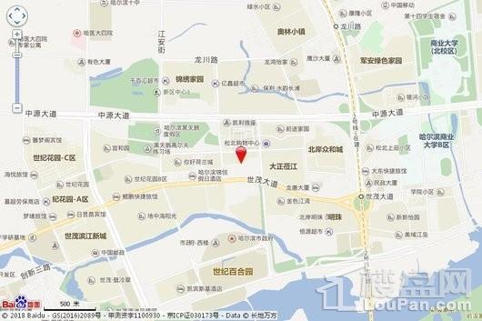 华润置地·万象润街交通图