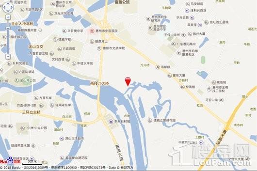 德威江誉城交通图