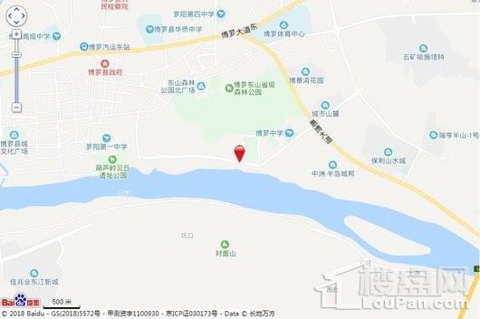 康顺金碧湾花园交通图