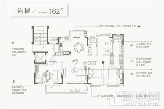 中南樾府户型图
