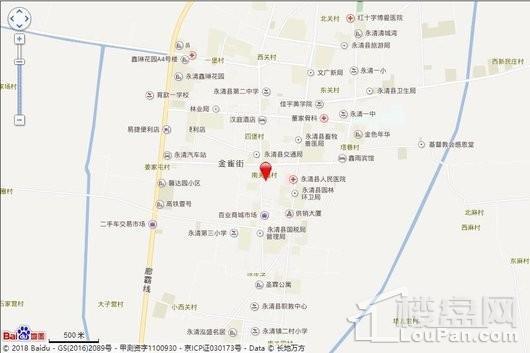 德丰·海棠园交通图