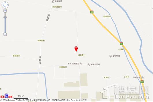 百合·空港智慧谷交通图