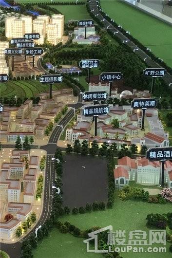 绿地安南小镇实景图