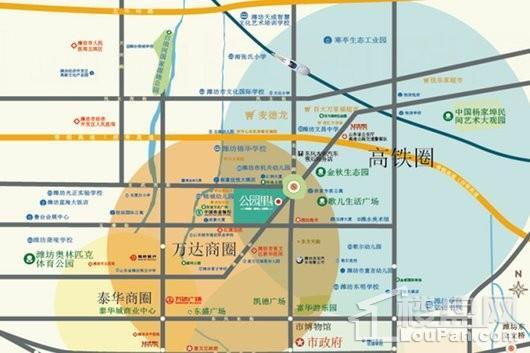 新都公园里交通图