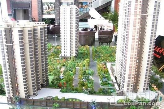宏信国际花园商铺售楼部沙盘图