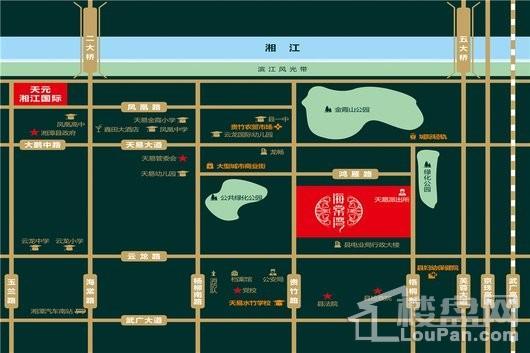 天元海棠湾交通图
