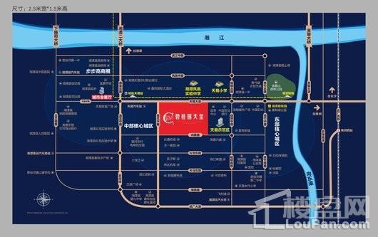 碧桂园天玺交通图
