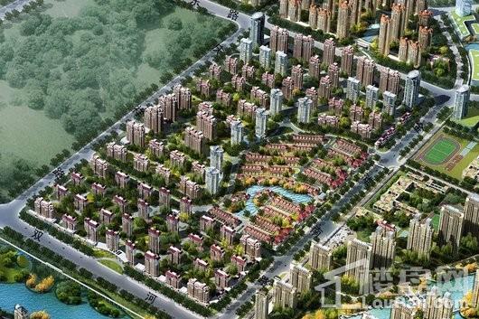 大华上海滩花园效果图