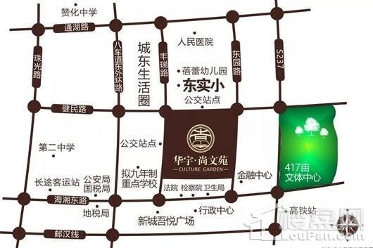 尚文苑交通图