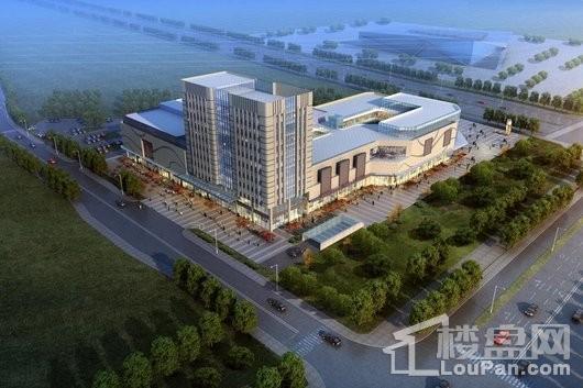 临港新城时代商业广场效果图