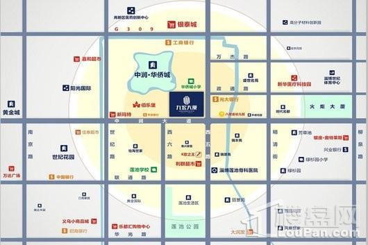 九宏大厦交通图