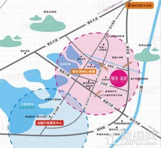 星光礼誉公寓交通图