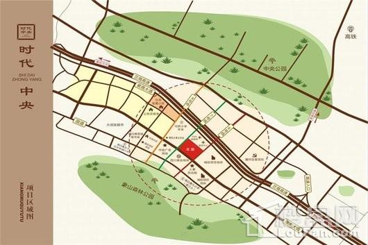 时代中央交通图