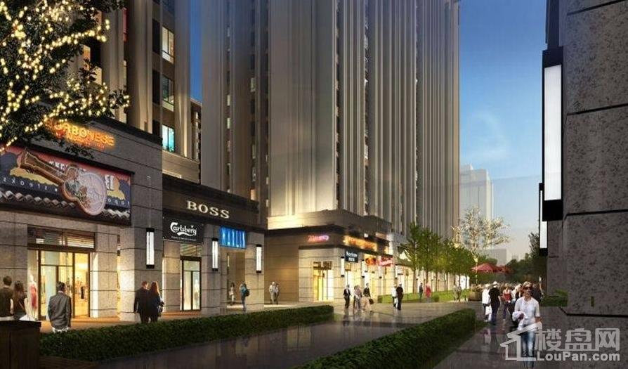 东峰国际公寓效果图