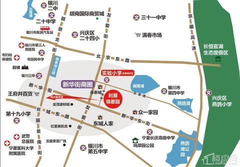 锦都园位置图