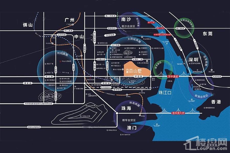 方直香山墅位置图