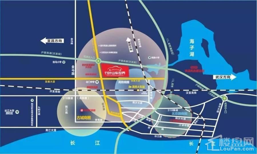 竹叶山车世界位置图