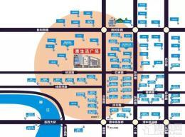 津鸿惠生活广场位置图