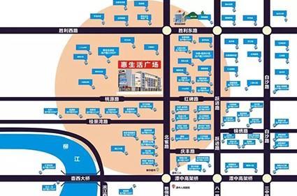 津鸿惠生活广场效果图