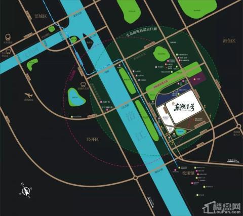 凯越东湖1号商铺位置图