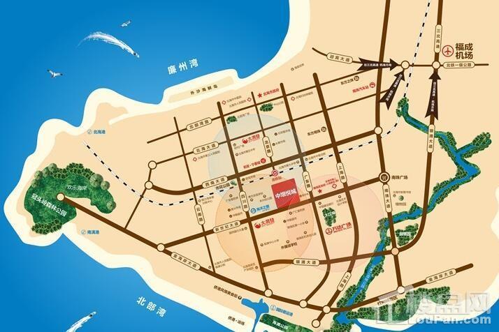 中垠悦城位置图