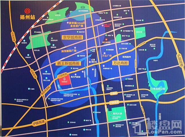 高力国际公寓位置图