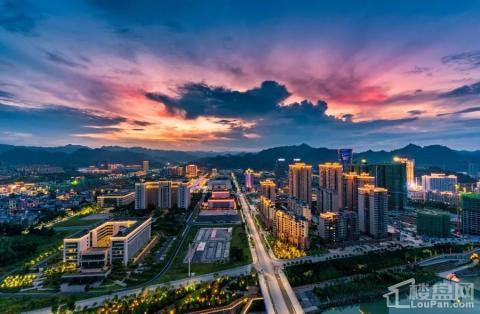 湘西州恒大御龙天峰实景图